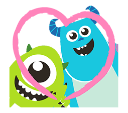 Monsters, Inc. Pop-Up Stickers sticker #13041788