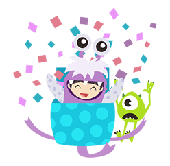 Monsters, Inc. Pop-Up Stickers sticker #13041795