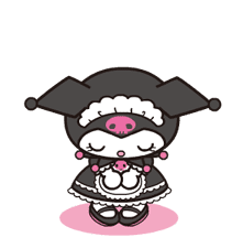 Animated Kuromi sticker #13274548
