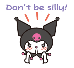 Animated Kuromi sticker #13274553