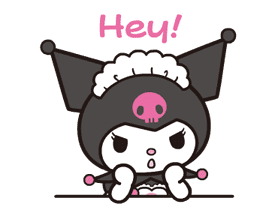 Animated Kuromi sticker #13274555