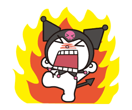 Animated Kuromi sticker #13274563