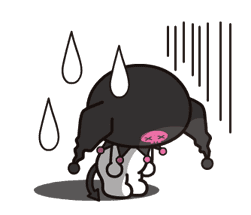 Animated Kuromi sticker #13274564