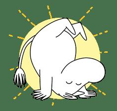 Moomin Pop-Up Stickers sticker #13477494