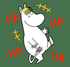 Moomin Pop-Up Stickers sticker #13477497