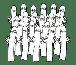Moomin Pop-Up Stickers sticker #13477499