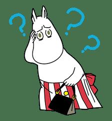 Moomin Pop-Up Stickers sticker #13477501