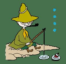 Moomin Pop-Up Stickers sticker #13477505