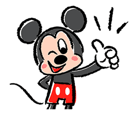 Lovely Mickey and Minnie Pop-Up Stickers sticker #13653449