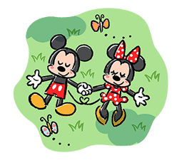 Lovely Mickey and Minnie Pop-Up Stickers sticker #13653460