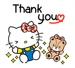 Hello Kitty Lovely Pop-Up Stickers sticker #13624078