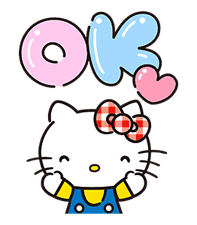 Hello Kitty Lovely Pop-Up Stickers sticker #13624079