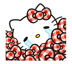 Hello Kitty Lovely Pop-Up Stickers sticker #13624080