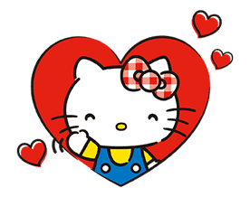 Hello Kitty Lovely Pop-Up Stickers sticker #13624081