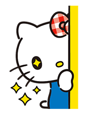 Hello Kitty Lovely Pop-Up Stickers sticker #13624083