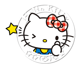 Hello Kitty Lovely Pop-Up Stickers sticker #13624084