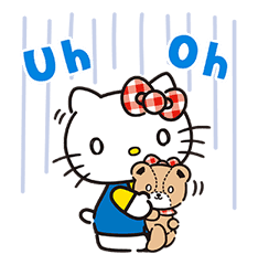 Hello Kitty Lovely Pop-Up Stickers sticker #13624085