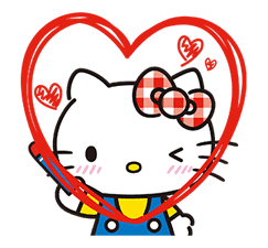 Hello Kitty Lovely Pop-Up Stickers sticker #13624087