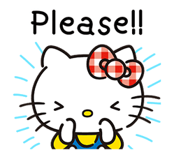 Hello Kitty Lovely Pop-Up Stickers sticker #13624092