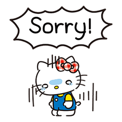 Hello Kitty Lovely Pop-Up Stickers sticker #13624093