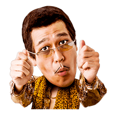 PIKOTARO PPAP Stickers sticker #13812799