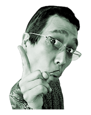PIKOTARO PPAP Stickers sticker #13812805