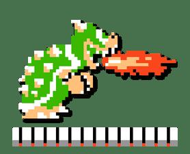 Super Mario Bros. 8-Bit Stickers sticker #13937671