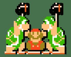 Super Mario Bros. 8-Bit Stickers sticker #13937673