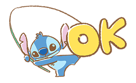 Stitch Pop-Up Cuteness sticker #14038334