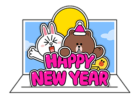 LINE Greeting Cards sticker #14327966