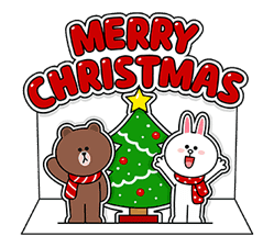 LINE Greeting Cards sticker #14327968