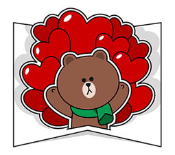 LINE Greeting Cards sticker #14327969