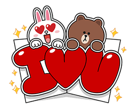 LINE Greeting Cards sticker #14327972