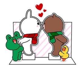 LINE Greeting Cards sticker #14327975