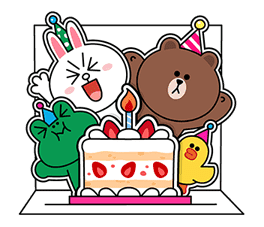 LINE Greeting Cards sticker #14327978
