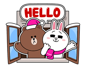 LINE Greeting Cards sticker #14327983
