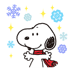 Wonderful Winter Snoopy Pop-Up Stickers sticker #14228080