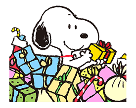 Wonderful Winter Snoopy Pop-Up Stickers sticker #14228086