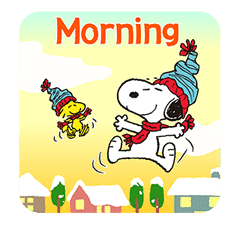 Wonderful Winter Snoopy Pop-Up Stickers sticker #14228093