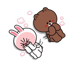 Brown & Cony's Heaps of Hearts! sticker #14585997