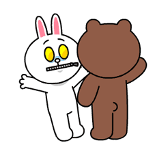 Brown & Cony's Heaps of Hearts! sticker #14586003