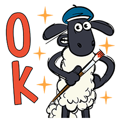 Shaun the Sheep Pop-Up Stickers