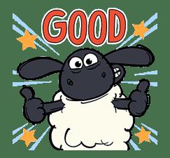 Shaun the Sheep Pop-Up Stickers sticker #14586030