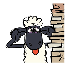 Shaun the Sheep Pop-Up Stickers sticker #14586034