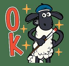 Shaun the Sheep Pop-Up Stickers sticker #14586035