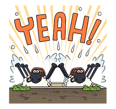 Shaun the Sheep Pop-Up Stickers sticker #14586036