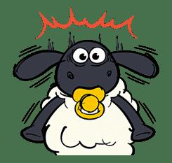 Shaun the Sheep Pop-Up Stickers sticker #14586038