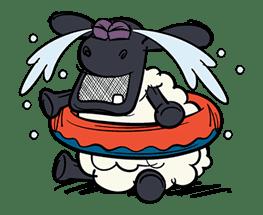 Shaun the Sheep Pop-Up Stickers sticker #14586042