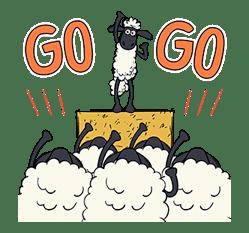 Shaun the Sheep Pop-Up Stickers sticker #14586044