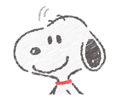 Cute Crayon Snoopy Stickers sticker #14735555